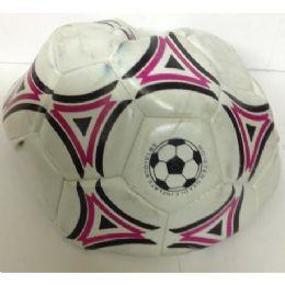 24 Bulk Heavy Weight Soccer Ball (assorted Colors)