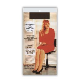 60 Bulk Golden Legs Sheer Pantyhose In French CoffeE- Queen Plus Size