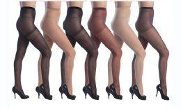 72 Bulk Isadora Comfort Sheer Pantyhose( Beige Color Only)