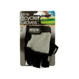 12 Bulk AntI-Slip Bicycle Gloves With Breathable Top Layer