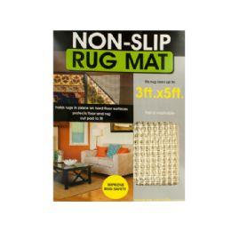 12 Bulk Protective NoN-Slip Rug Mat