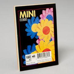 96 Bulk 3 Colours Asst Plain Pad 4x6 Inch 180 ct