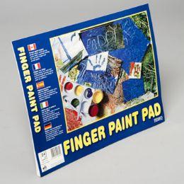 96 Bulk Finger Paint Pad 14x11 Inch 24ct