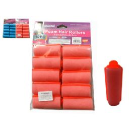 96 Bulk 10pc Foam Hair Rollers