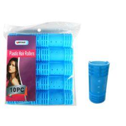 96 Bulk 10 Piece Plastic Hair Roller
