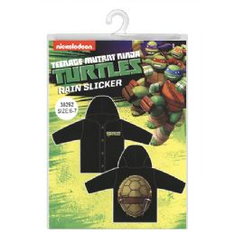 12 Bulk Ninja Turtles Rain Slicker
