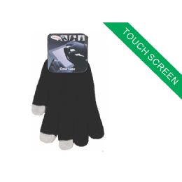 120 Bulk Childrens Touch Screen Glove ( Black Color Only )