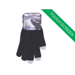120 Bulk Childrens Touch Screen Glove(black Color Only)