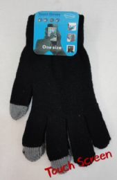 12 Bulk Men's Touch Screen Gloves
