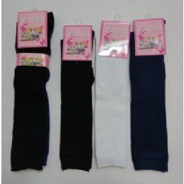 60 Bulk 15 Inch Kids Knee High Socks Size 6-8 Assorted Solid Colors