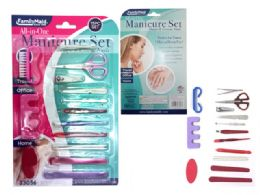 144 Bulk Manicure Set 15 Pieces