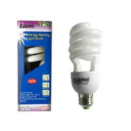 96 Bulk 30 Watt Energy Saving Spiral Lightbulb