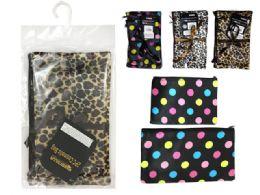 144 Bulk 2pc Cosmetic Makeup Bags