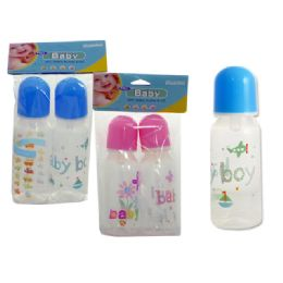 72 Bulk Baby BottleS- 8 OZ- 2 Pack