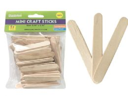72 Bulk 100 Piece Mini Craft Stick
