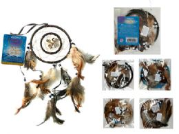 288 Bulk Dreamcatcher With Feathers And Beads