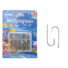144 Bulk Fishing Hooks 90pc/set