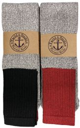 180 Bulk Yacht & Smith InsulateD-BooT-Socks - Cotton Terry Sole Thermal Tube Socks