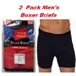 b3d11150de28 Wholesale FRUIT LOOM - HANES 2PK MEN BOXER BRIEFS IN FAMOUS BRAND PACKAGING