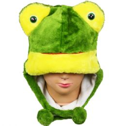 36 Bulk Winter Animal Hat Frog