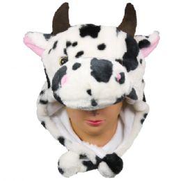 36 Bulk Winter Cow Animal Hat