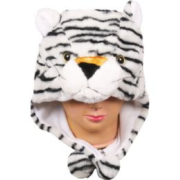 36 Bulk Winter Animal Hat Tiger