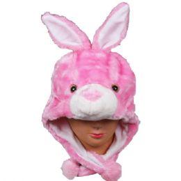 36 Bulk Winter Animal Hat Bunny