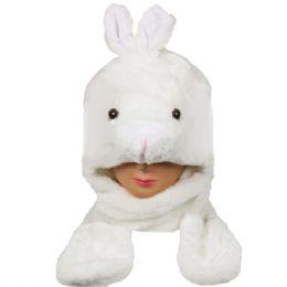 24 Bulk Winter Animal Hat Bunny