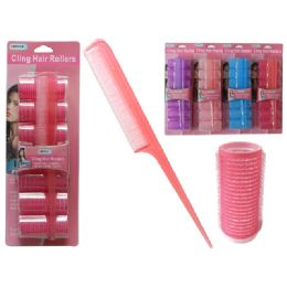 96 Bulk 7 Piece Cling Hair Roller