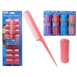 96 Bulk 4 Piece Cling Hair Roller
