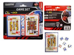 72 Bulk 2 Packs Of Playing Cards With Dice