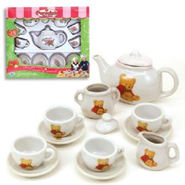 12 Bulk 13pc Porcelain Tea Set