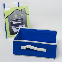 28 Bulk Collapsible Storage Container Nonwoven 11.5x8.5x4.75 28pc Pdq Home Polybag/insert