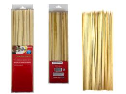 48 Bulk 100 Piece Bamboo Skewers