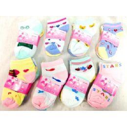 600 Bulk Baby Socks In Assorted Styles