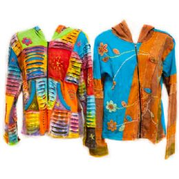50 Bulk Made In Nepal 100% Cotton Jackets
