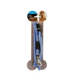 36 Bulk Woven Nylon Dog Leash