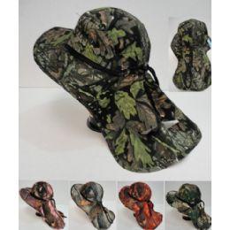 24 Bulk Legionnaires Hat [hardwood Camo With Mesh]