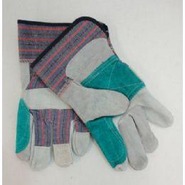120 Bulk Leather Work Gloves