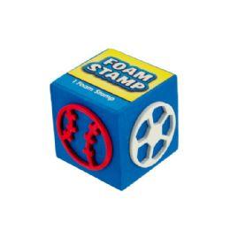 144 Bulk Fun Foam Stamps