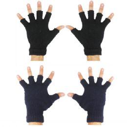 72 Bulk Winter Gloves Fingerless