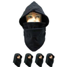 72 Bulk Men Winter Hat In Black