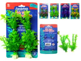 96 Bulk 2pc Fish Tank Decoration