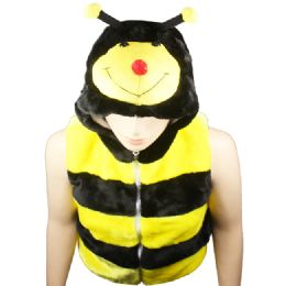 12 Bulk Animal Hat Ab 310 ( Kids Jacket ) Bumble Bee