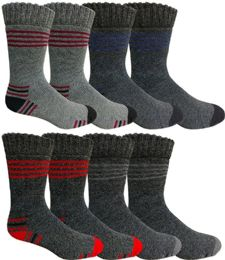 180 Bulk Mens Warm Winter Thermal Socks