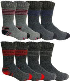 180 Bulk Mens Warm Winter Thermal Socks