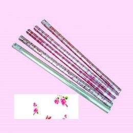 """12 Bulk Valentines Cellophane Wrapping Paper 30"""" X 100'"""