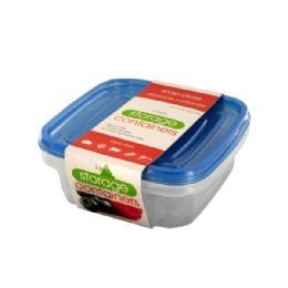 72 Bulk Square Food Storage Container Set