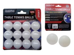 96 Bulk 12 Piece Table Tennis Ball