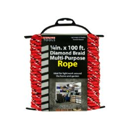 12 Bulk Diamond Braid MultI-Purpose Rope On Holder